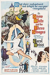 <i>Snow White and the Three Stooges</i> 1961 film by Walter Lang