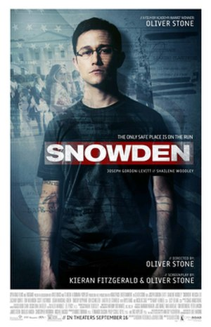 Snowden (film) - Theatrical release poster