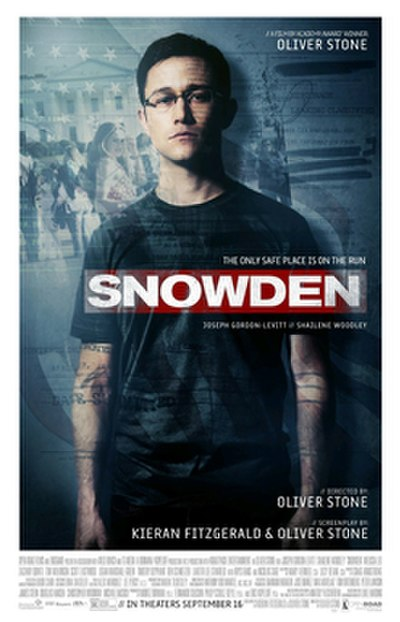 Picture of a movie: Snowden