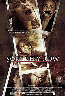 <i>Sorority Row</i> 2009 film by Stewart Hendler