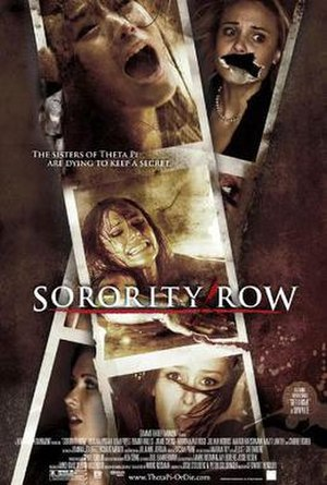 Sorority Row - Theatrical release poster