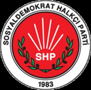Social Democratic Populist Party (Turkey) - Image: Sosyaldemokrat halkci parti logo