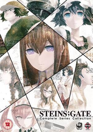 Steins;Gate (anime) - Image: Steins;Gate anime cover