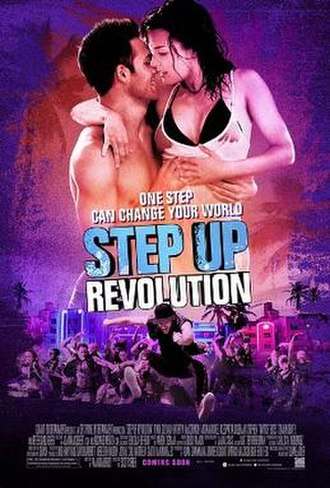 Step Up Revolution - Theatrical release poster