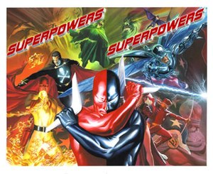 Project Superpowers - Promotional image by Alex Ross.