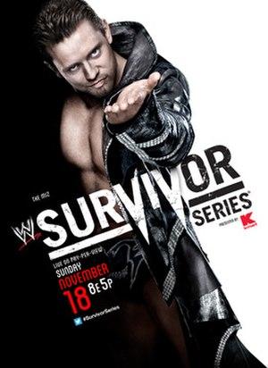 Survivor Series (2012) - Promotional poster featuring The Miz
