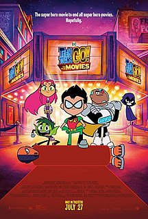 <i>Teen Titans Go! To the Movies</i> 2018 American animated superhero fantasy comedy film by Peter Rida Michail and Aaron Horvath