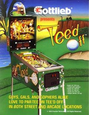 Tee'd Off - Image: Tee'd Off (pinball)