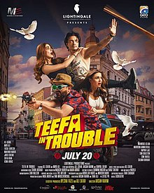 Teefa in Trouble (2018) Hindi HDRip 720p 1.3GB AC3 5.1 ESub MKV