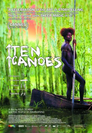 Ten Canoes - Promotional movie poster for the film