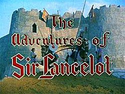 A castle gateway behind the series titles