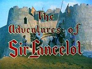 The Adventures of Sir Lancelot - Titlecard from the colour episodes