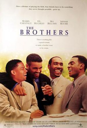 The Brothers (2001 film) - Theatrical release poster