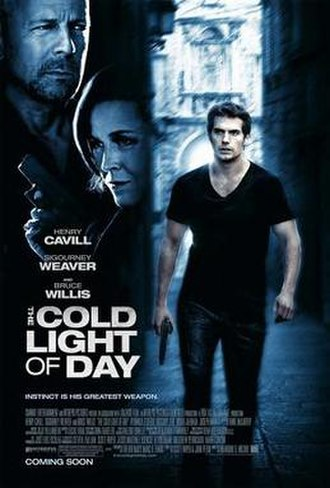 The Cold Light of Day (2012 film) - Theatrical release poster