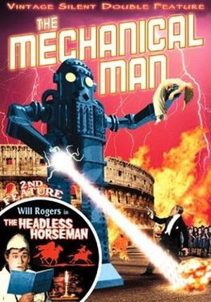 The Mechanical Man - Cover of Alpha Video DVD double-feature with The Headless Horseman (1922)