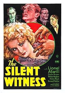 <i>The Silent Witness</i> (1932 film) 1932 film