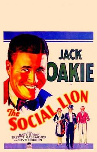 The Social Lion - Theatrical release poster