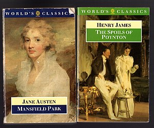 Oxford World's Classics - World's Classics paperbacks were printed with minor variations in design and colour scheme.