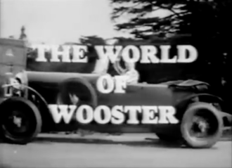 The World of Wooster - The title card of The World of Wooster