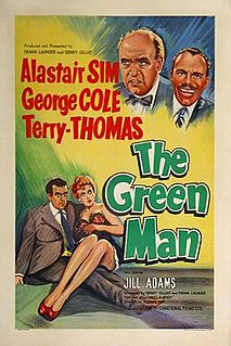 <i>The Green Man</i> (film) 1956 film by Robert Day, Basil Dearden