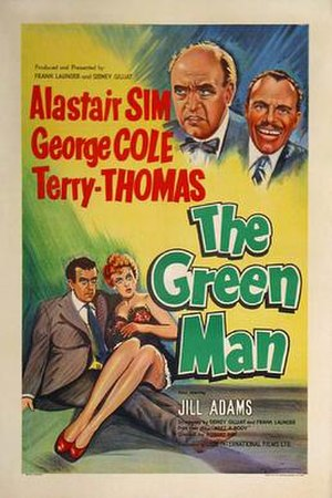 The Green Man (film) - Movie poster