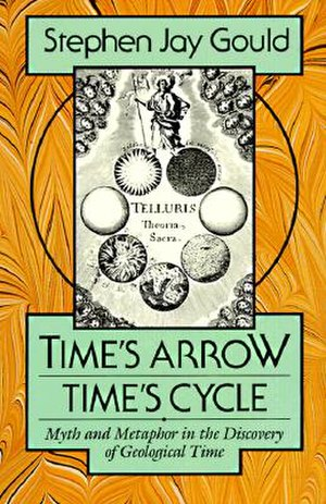Time's Arrow, Time's Cycle - Cover of the hardcover edition