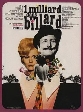Diamonds Are Brittle - Image: Un milliard dans un billard movie poster 1965 1020544370
