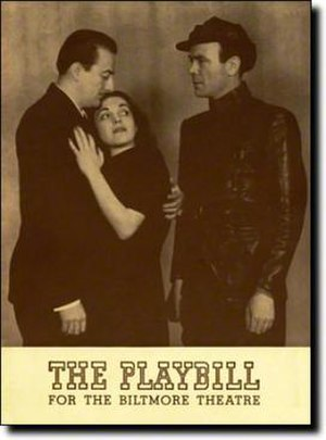 The Unconquered (1940 play) - Playbill for the Broadway production