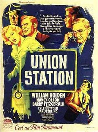 Union Station (film) - French treatrical release poster