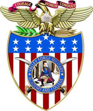 Valley Forge Military Academy and College - Image: Valley Forge Military Academy Capshield