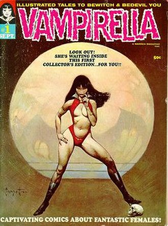 Warren Publishing - Image: Vampirella 1