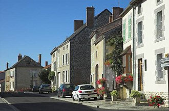 Arrondissement of Bellac - Image: Village of Thiat, Haute Vienne