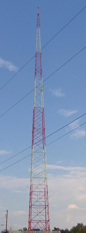 WISR - WISR broadcast tower at the end of North Cemetery on Route 8 north in Butler.