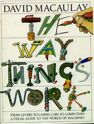 The Way Things Work - Book cover for The Way Things Work