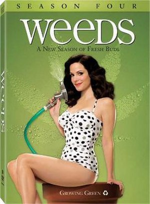 Weeds (season 4) - Image: Weeds S4 DVD
