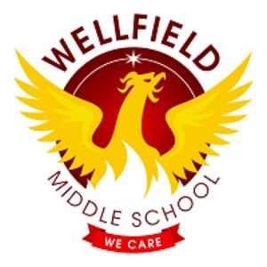 Wellfield Middle School - Image: Wellfield Middle School logo 2