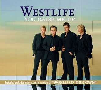You Raise Me Up - Image: Westlife You Raise Me Up CD2