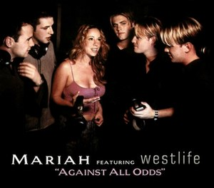 Against All Odds (Take a Look at Me Now) - Image: Westlife carey