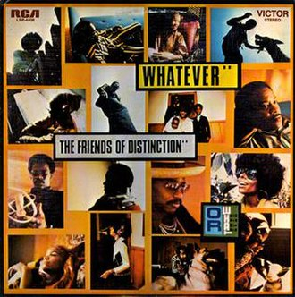 Whatever (The Friends of Distinction album) - Image: Whatever (The Friends of Distinction album) coverart