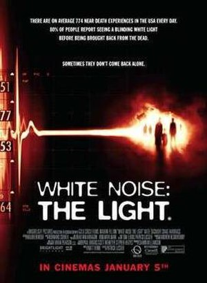 White Noise: The Light - Theatrical poster
