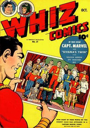 Marvel Family - Image: Whiz comics issue 59