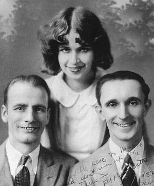 Wilson, Keppel and Betty - Wilson, Keppel and Betty photographed in 1933