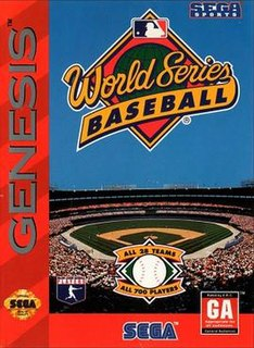 <i>World Series Baseball</i> (video game) 1994 video game