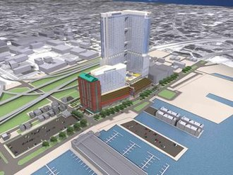 Renaissance Plaza - former One Trade Square rendering