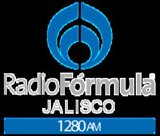 XEBON-AM - Image: XEBON Radio Formula 1280 logo