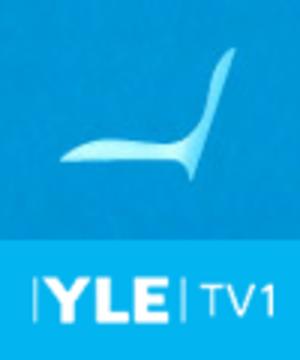 Yle TV1 - Former logo (2007–2012).