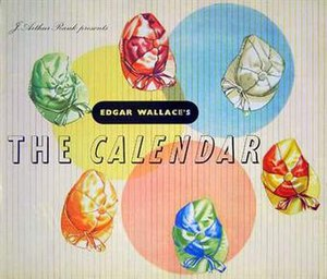 The Calendar (1948 film) - Original pressbook