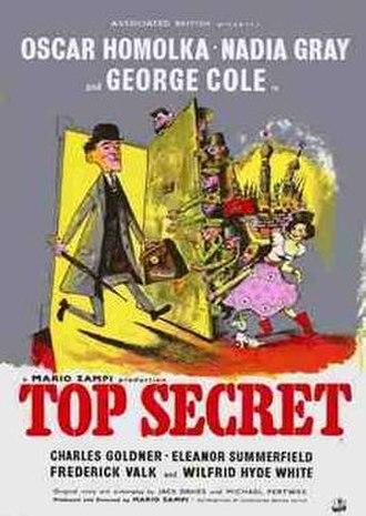 "Top Secret (1952 film) - Image: ""Top Secret"" (1952)"
