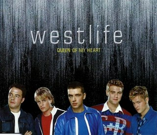 Queen of My Heart 2001 single by Westlife