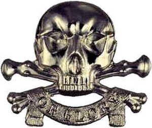 "17th/21st Lancers - ""Death or Glory"" the Motto (cap badge) of the 17th/21st Lancers"